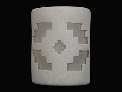 """9"""" Open Top - Ventana Design in White color - Indoor/Outdoor"""
