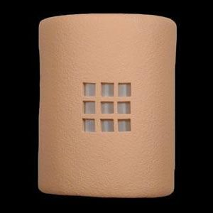 Open Top-Blocks Design-Apricot color-Indoor/Outdoor