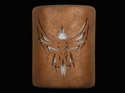 Open Top-Phoenix Design-Antique Copper color-Indoor/Outdoor