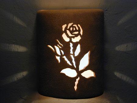 Open Top-Roses Design-Sand Wash color-Indoor/Outdoor