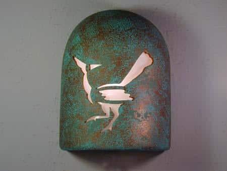 Hood (Dark Sky)-Roadrunner Design-Raw Turquoise color-Indoor/Outdoor