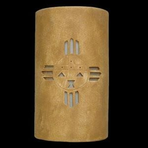"14"" Open Top - Kachina Design, in Sand Wash color - Indoor/Outdoor"