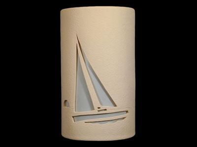 Open Top-Sailboat Design-Tan color-Indoor/Outdoor
