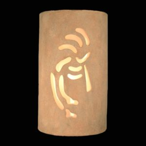 Closed Top-Dark Sky-Kokopelli-Sandstone-Garage-Porch-USA Made-Custom-Indoor-Outdoor