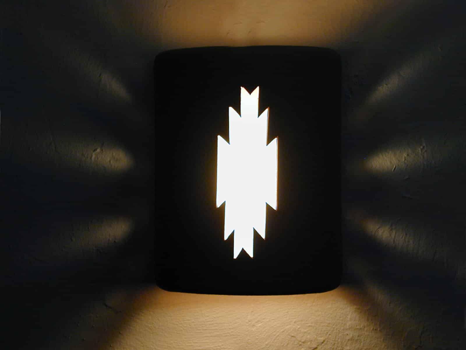 """9"""" Open Top - Navajo Design in Brown color - Indoor/Outdoor"""