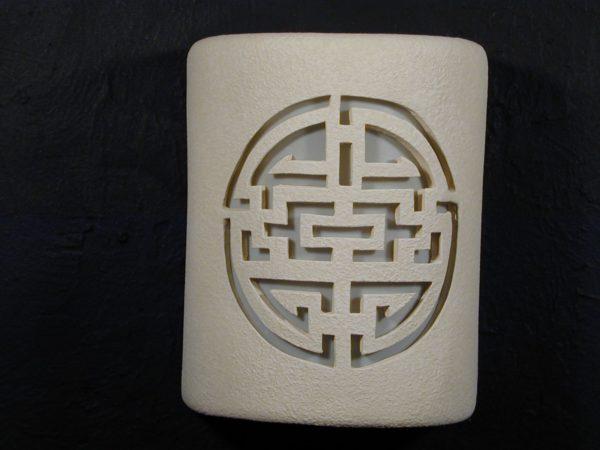 Open Top-Shoji Design-Linen Tone-Outdoor
