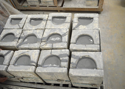 Filled Molds