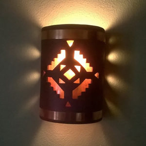 Southwest Geometric w/ Copper