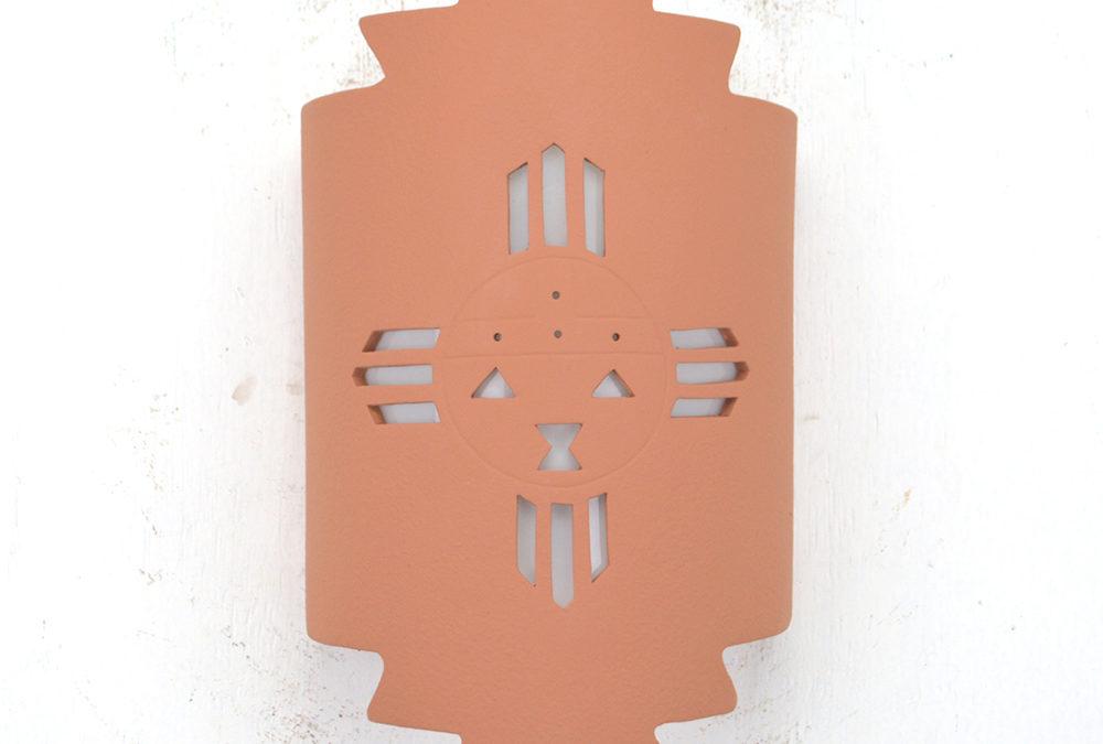 Sunface-Terracotta-Indoor-Outdoor-Zig Zag Handcut